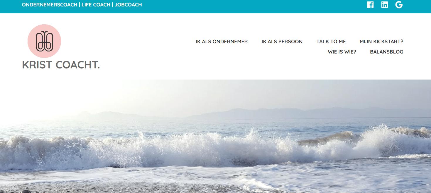 Business in Balance, nog een websiteproject van Copywriter Myriam Beeckman