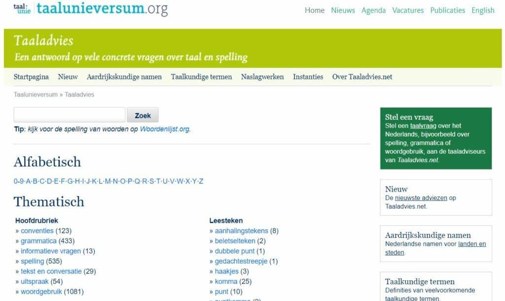 Taalunieversum.org