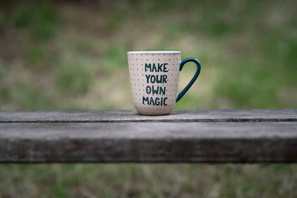 Make your own magic | SEO-copywriter Myriam Beeckman