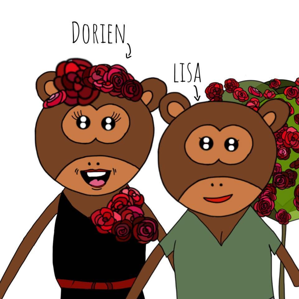 Lisa en Dorien Kinderboeken - logo